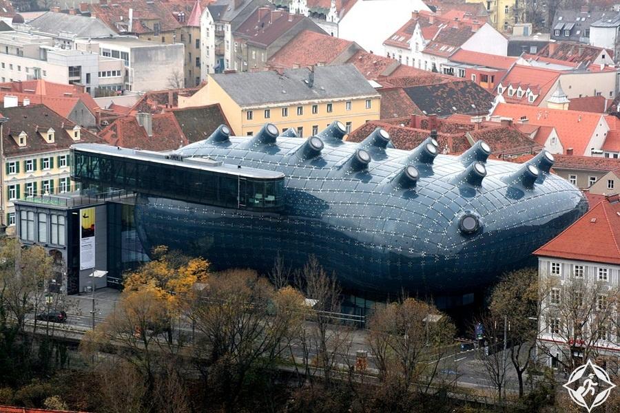 متحف غراتس للفن الحديث - المعالم السياحية في غراتس