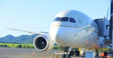 موريشيوس تستقبل الرحلة الافتتاحية لشركة الخطوط السعودية