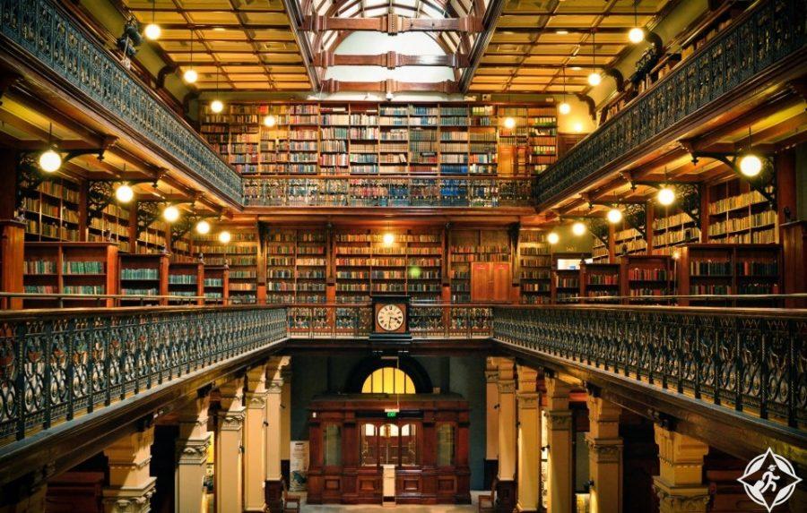 المعالم السياحية في أديلايد - مكتبة ولاية جنوب أستراليا