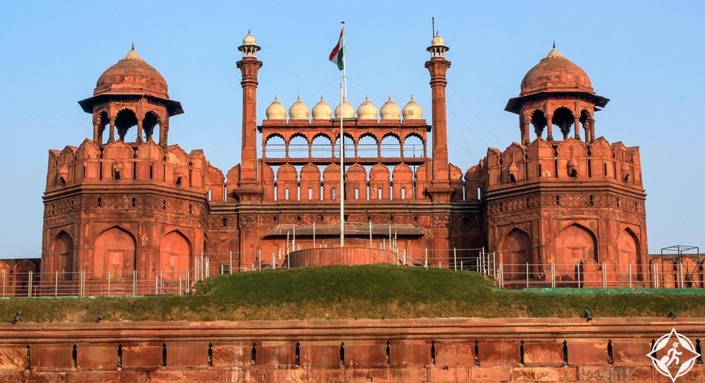 السياحة في الهند - الحصن الأحمر