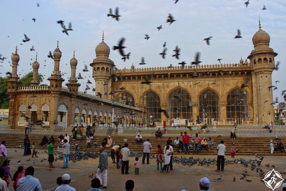 السياحة في الهند - مسجد مكة