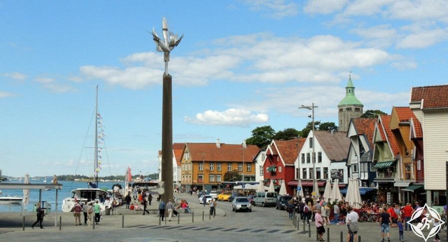 السياحة في ستافنجر - ساحة السوق