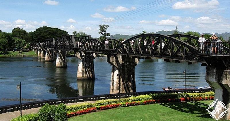 السياحة في كانشانابوري - الجسر على نهر كواي
