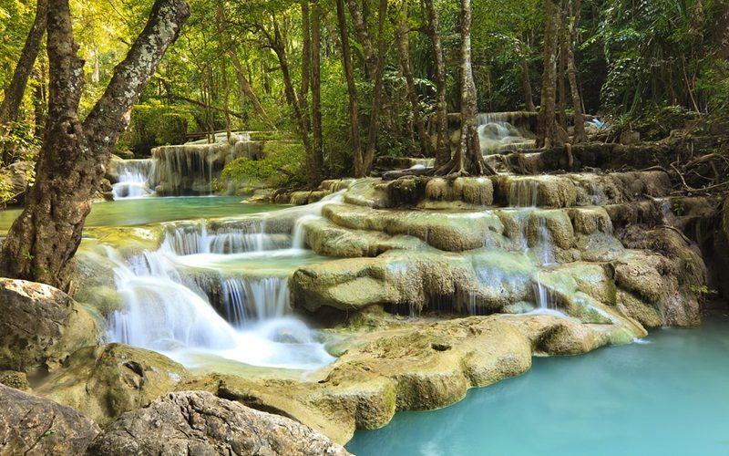 السياحة في كانشانابوري - حديقة إراوان الوطنية