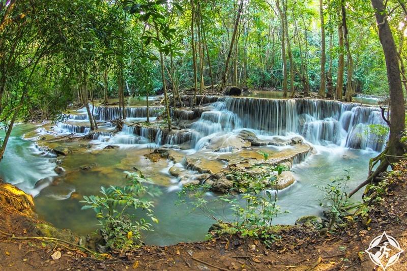 السياحة في كانشانابوري - حديقة سري ناكارين الوطنية