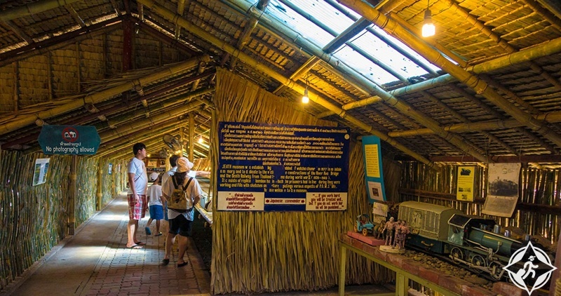 السياحة في كانشانابوري - متحف الحرب في الجسر