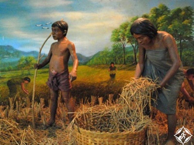 السياحة في كانشانابوري - متحف بان كاو الوطني