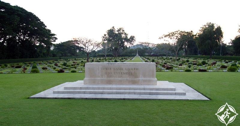 السياحة في كانشانابوري - مقبرة تشونك-كاي