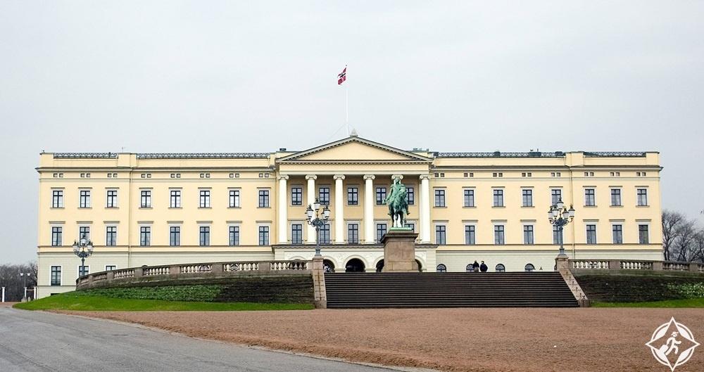 المعالم السياحية في أوسلو - القصر الملكي
