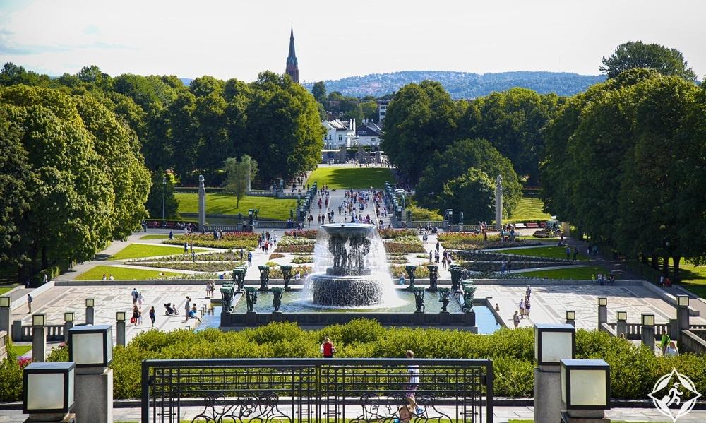 المعالم السياحية في أوسلو - حديقة فيجيلاند للنحت
