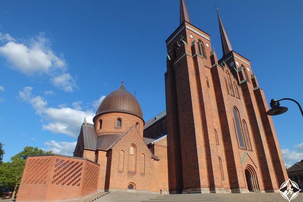 المعالم السياحية في روسكيلد - كاتدرائية روسكيلد