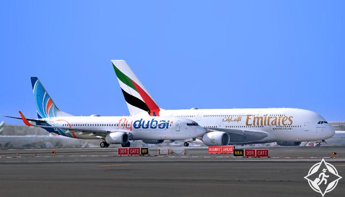 طيران اﻹمارات-فلاي دبي