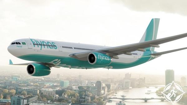 فلاي ناس تطلق أولى رحلات الطيران السعودية نحو العراق منذ 25 عاما