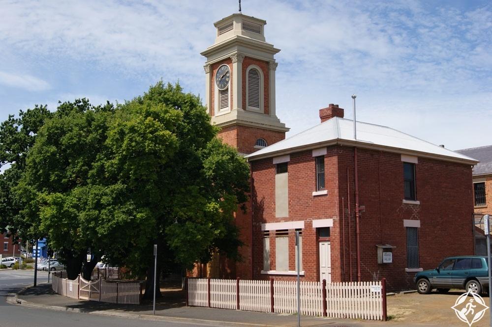معالم الجذب في هوبارت - كنيسة السجن