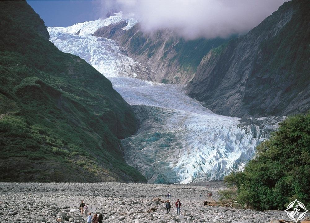 السياحة في نيوزيلندا - الأنهار الجليدية فوكس وفرانز جوزيف