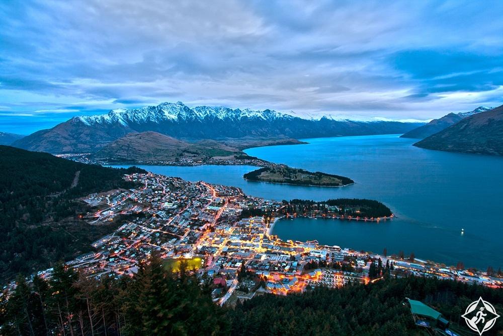 السياحة في نيوزيلندا - كوينزتاون