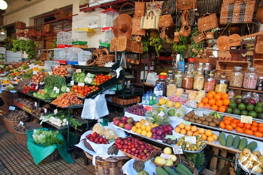 المعالم السياحية في فونشال - سوق المزارعين