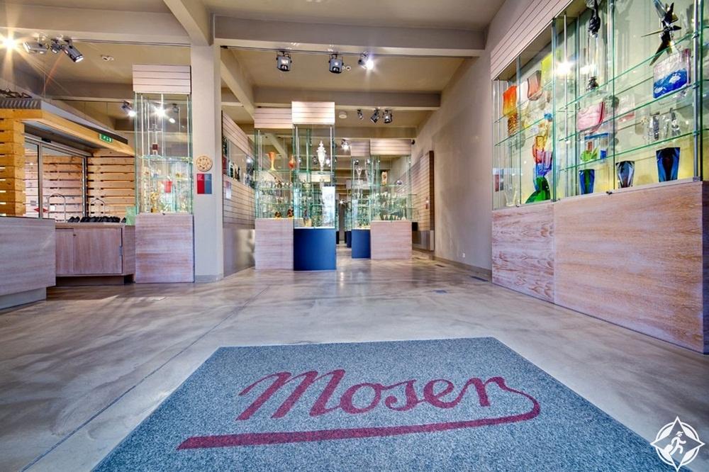 المعالم السياحية في كارلوفي فاري - مركز زوار موسر