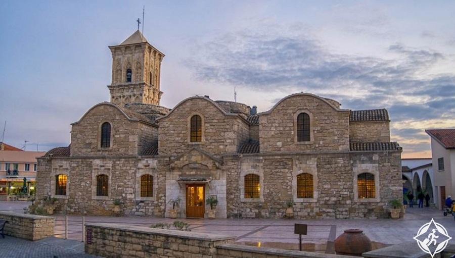 المعالم السياحية في لارنكا - كنيسة سانت لازاروس