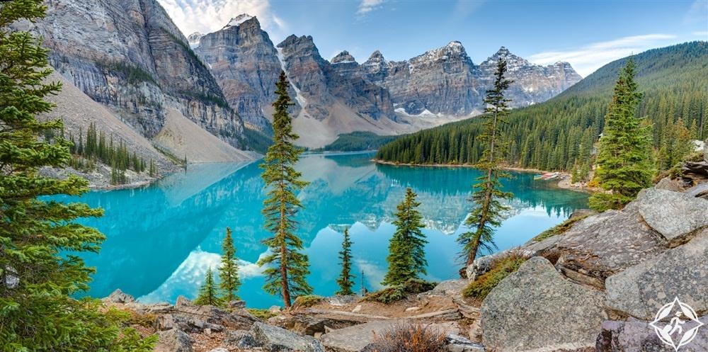 الوجهات السياحية في كندا - بانف