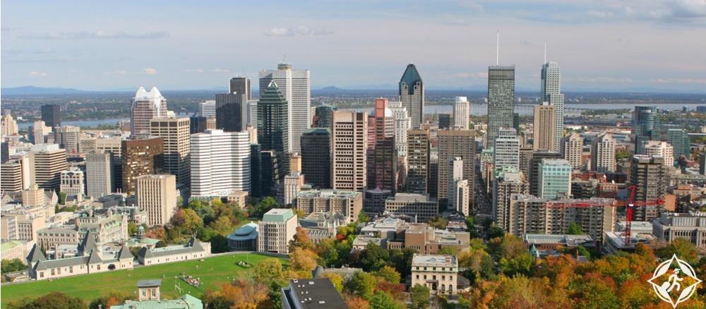 الوجهات السياحية في كندا - مونتريال