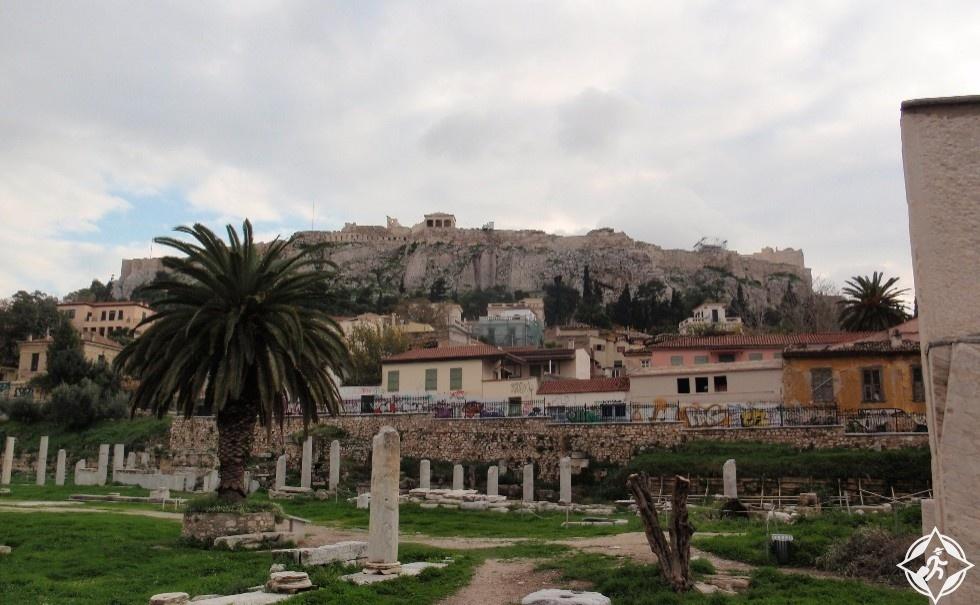 اليونان-أثينا-السوق القديمة أغورا