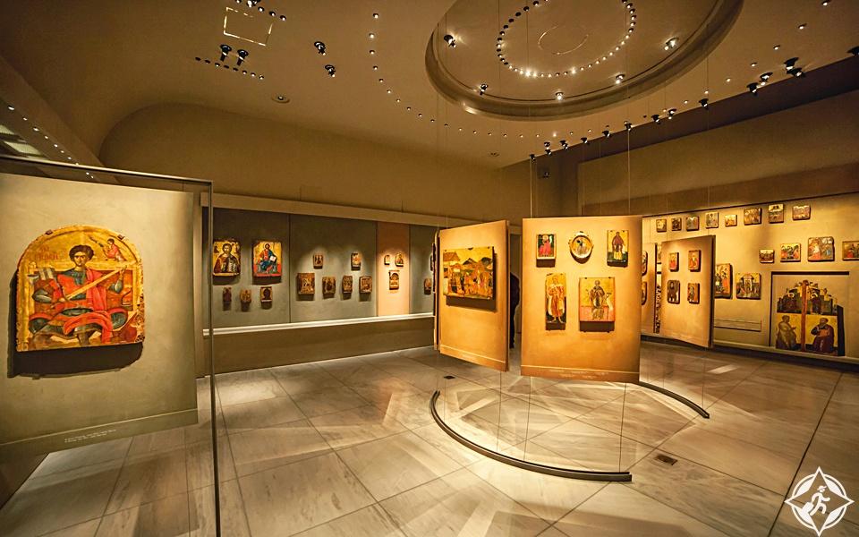 اليونان-اثينا-المتحف البيزنطي