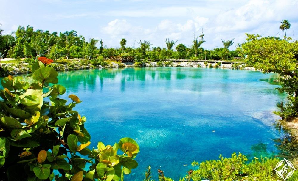 جزيرة كوزوميل - بحيرة لاغونا تشانكناب