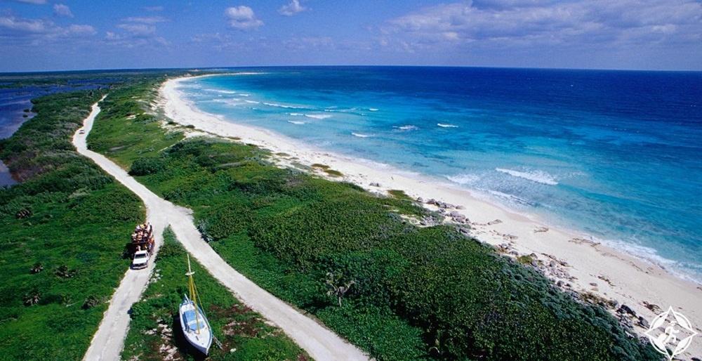 جزيرة كوزوميل - متنزه بونتا سور ايكو بيتش