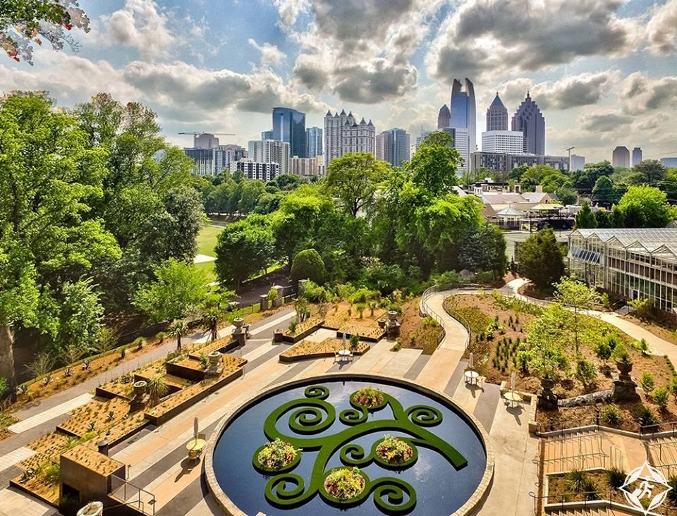 جورجيا-أتلانتا-حديقة أتلانتا النباتية