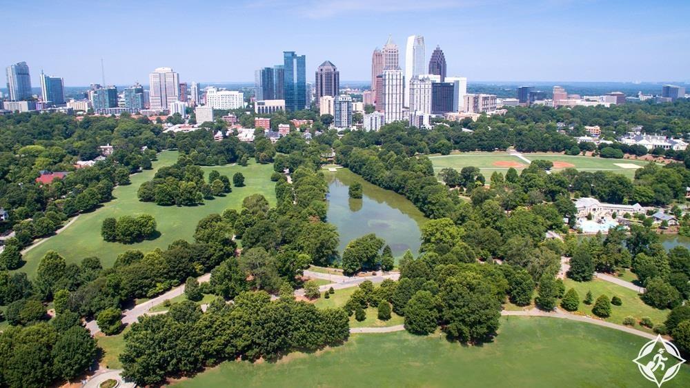 جورجيا-أتلانتا-حديقة بيدمونت