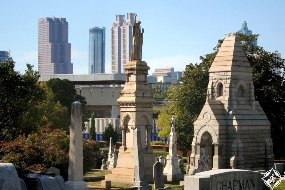 جورجيا-أتلانتا-مقبرة أوكلاند
