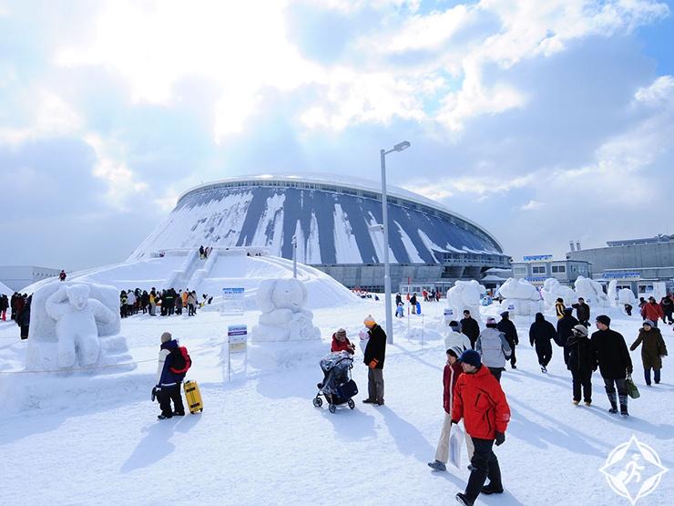 اليابان في الشتاء