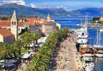 كرواتيا-تروجير-بلدة مارينا