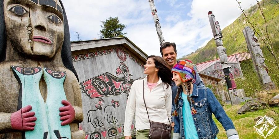 معالم الجذب السياحي في ألاسكا - مركز ألاسكا للتراث المحلي
