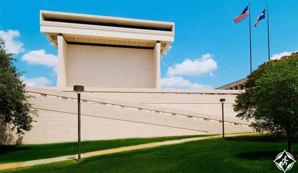 المعالم السياحية في أوستن - مكتبة ومتحف ليندون بينس جونسون