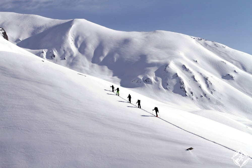 منتجعات التزلج في جورجيا