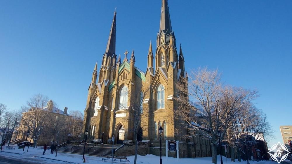 شارلوت تاون - كنيسة سانت دونستان