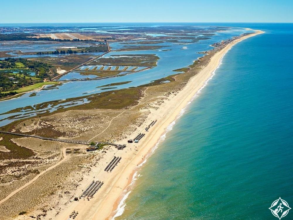 شواطئ البرتغال - شاطئ كينتا دو لاغو