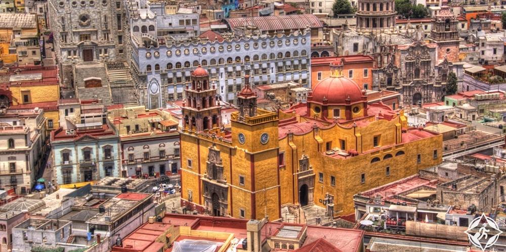 غواناجواتو - كنيسة سيدة غواناجواتو