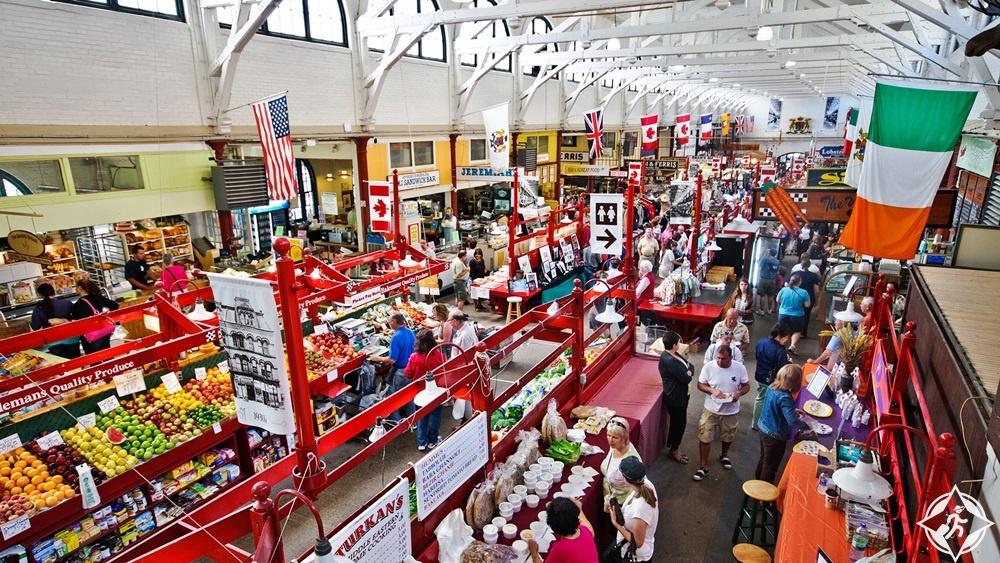 نيو برونزويك - سوق مدينة سانت جون