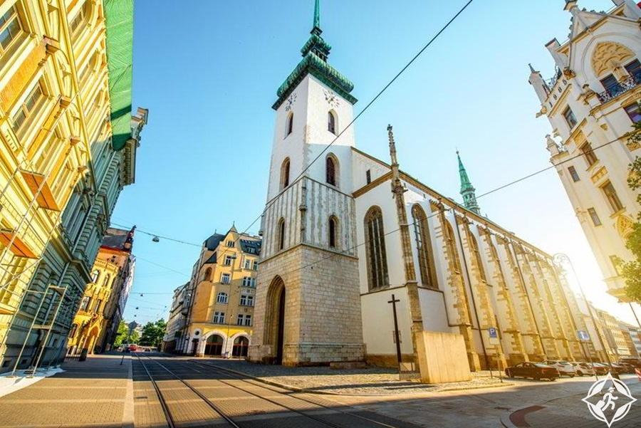 برنو - كنيسة سانت جيمس