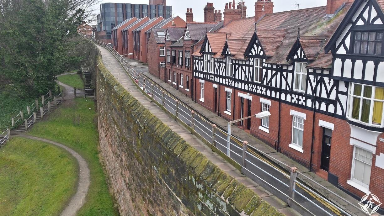 جدران المدينة - المملكة المتحدة - تشيستر-