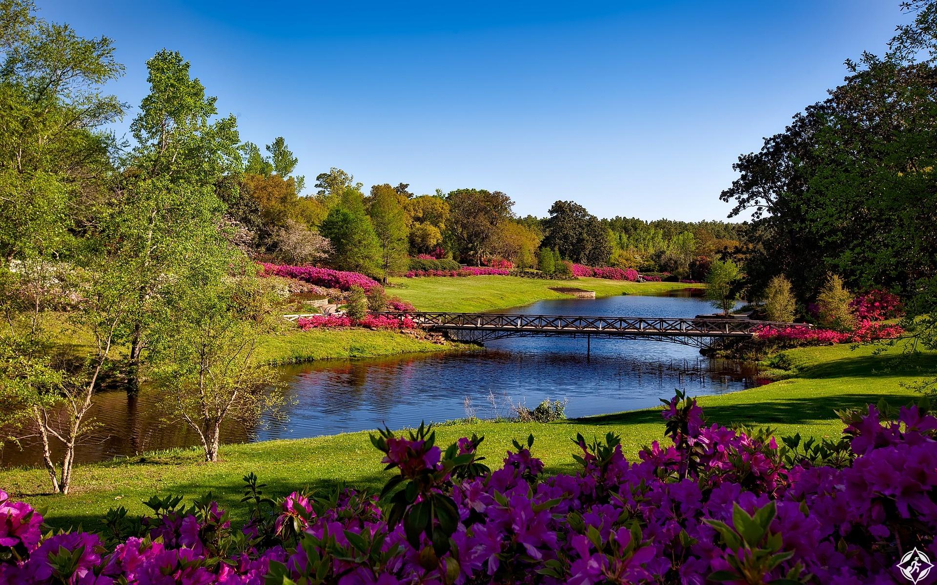 حدائق بلينغراث - المعالم السياحية في ألاباما
