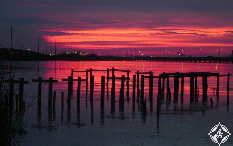 خليج موبايل- المعالم السياحية في موبايل الأمريكية
