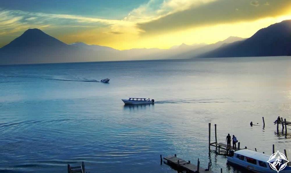 غواتيمالا - بحيرة أتيتلان