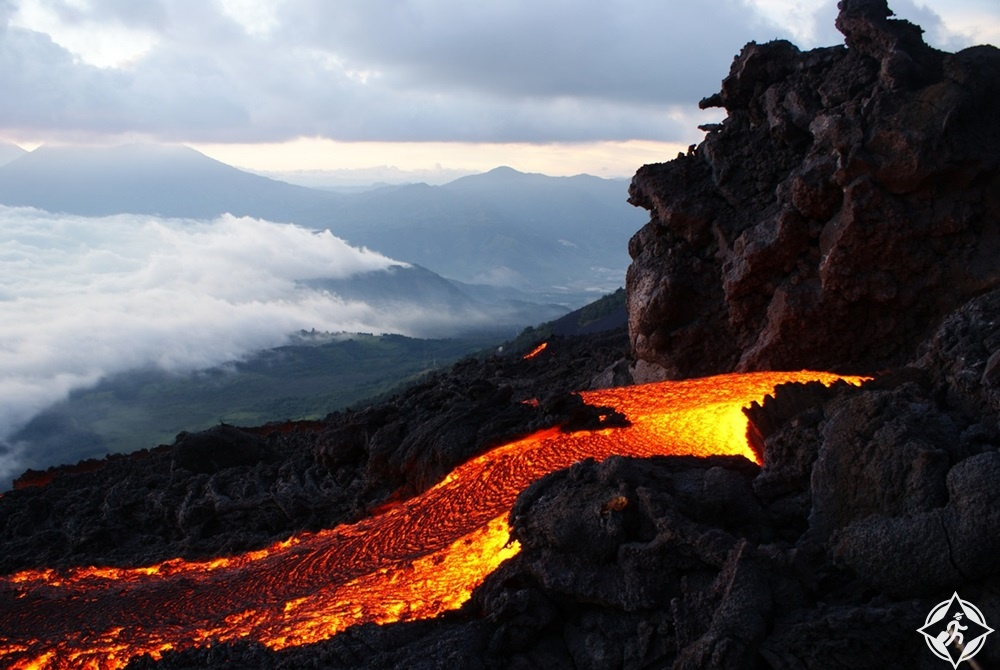 غواتيمالا - بركان باكايا