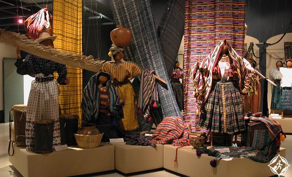 غواتيمالا - متحف أزياء المايا