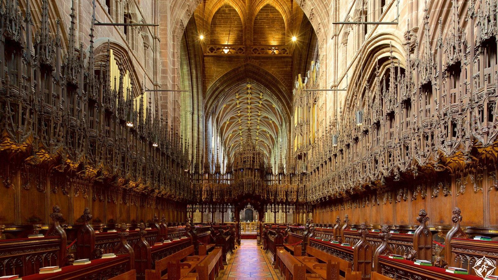 كاتدرائية تشيستر - المملكة المتحدة - تشيستر