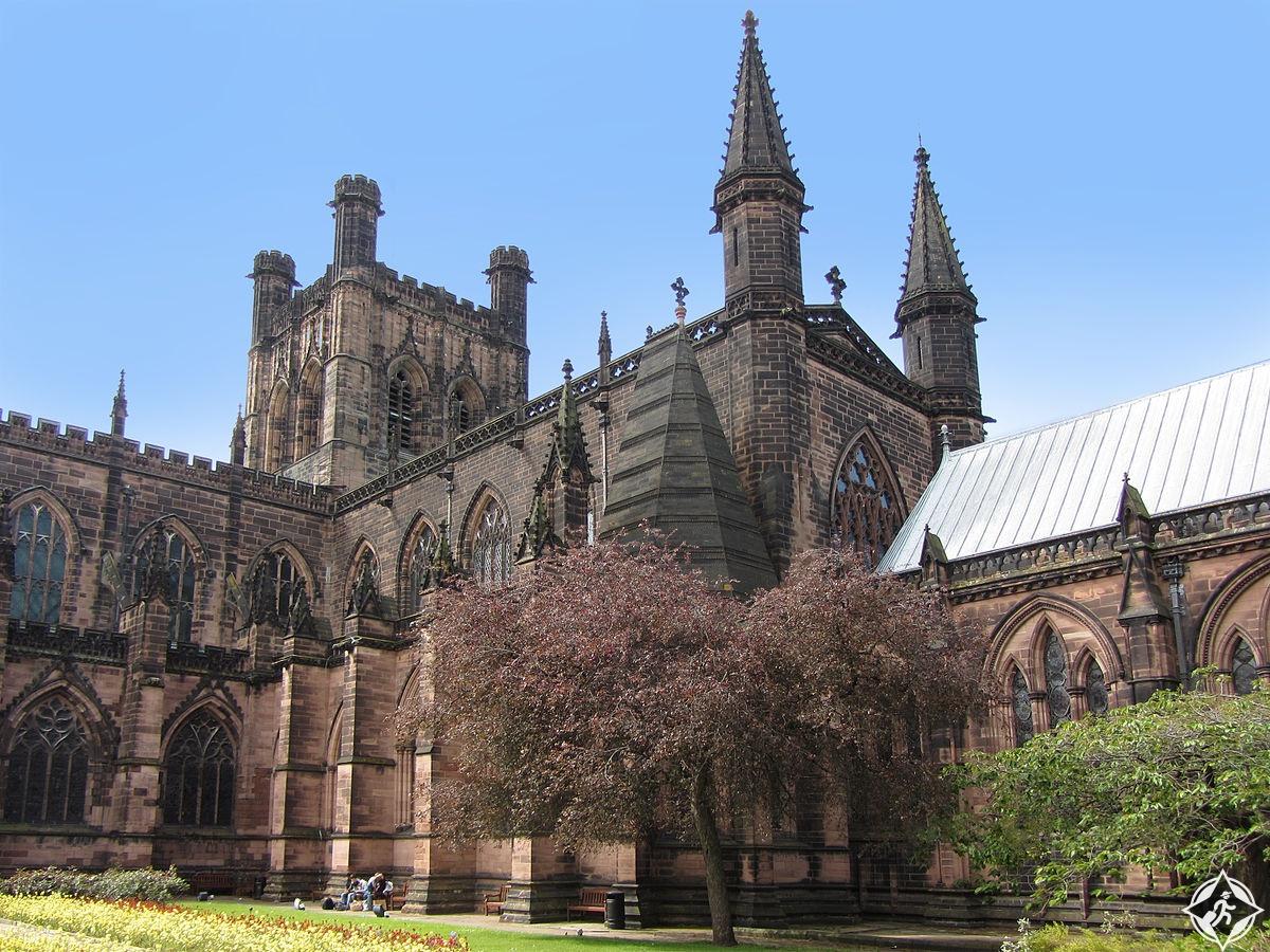 كاتدرائية تشيستر 1 - المملكة المتحدة - تشيستر